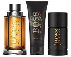 Hugo Boss SET The Scent M) edt 100ml + sg 50ml + dst 75ml