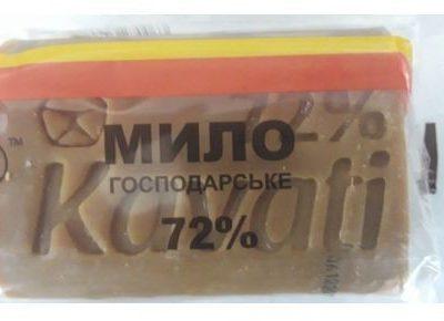 Inna Marka Mydło szare gospodarcze 72% tłuszcz roślinny 200g