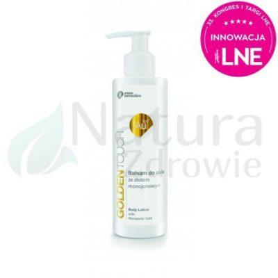 Invex Remedies Balsam do ciała ze złotem monojonowym Au100 Golden Touch Invex Remedies 200 ml