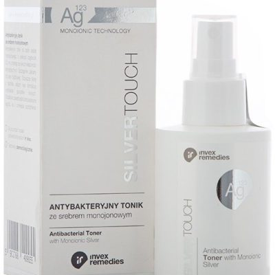 Invex Remedies Invex Remedies, Silver Touch, antybakteryjny tonik do twarzy, 100 ml