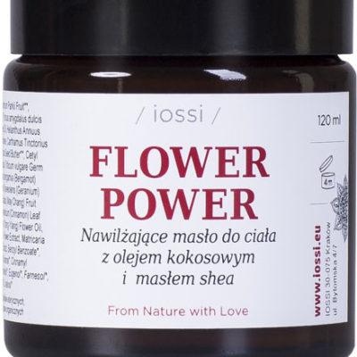 Iossi Flower Power Masło do Ciała Geranium i Bergamotka 120ml 15