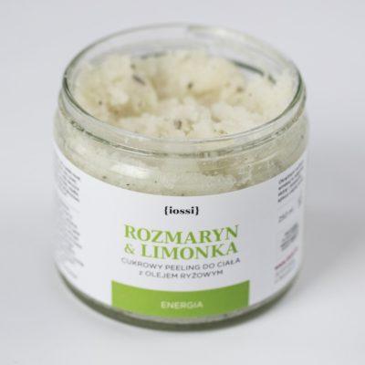 Iossi Iossi, peeling do ciała Rozmaryn & Limonka, 250 ml