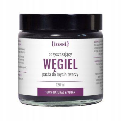Iossi oczyszczająca pasta do twarzy Węgiel 120ml