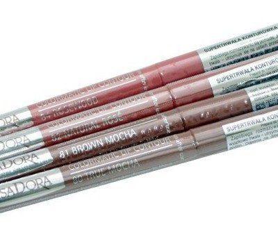 IsaDora Colormatic Lip Contour, konturówka do ust w sztyfcie 82 Natural Rose, 0,25 g