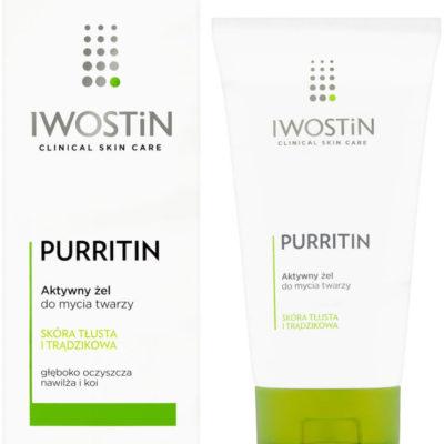 Iwostin Purritin, aktywny żel do mycia twarzy, 150ml 7080346