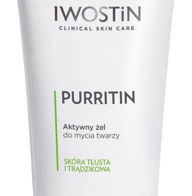 Iwostin PURRITIN Aktywny Żel do mycia twarzy 300 ml 7073045
