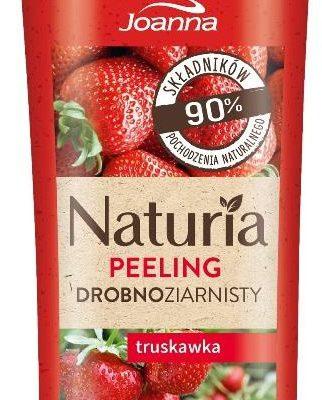 Joanna Naturia drobnoziarnisty myjący peeling do ciała Truskawka 100g