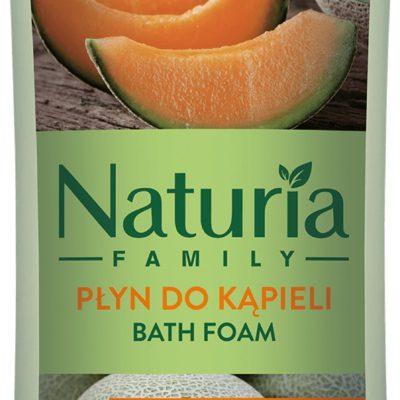 Joanna NATURIA Family energizujący płyn do kąpieli SOCZYSTY MELON 750ml