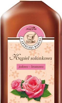 Joanna Płyn Kąpiel Solankowa Jodowo - Bromowa - zapach róży 700ml