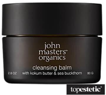 John Masters Organics Organics Cleansing Balm - Kokum Butter & Sea Buckthorn Balsam oczyszczający z masłem kokum i rokitnikiem 80 g
