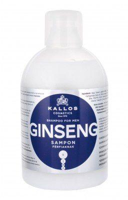 Kallos Cosmetics Cosmetics For Men Ginseng szampon do włosów 1000 ml dla mężczyzn