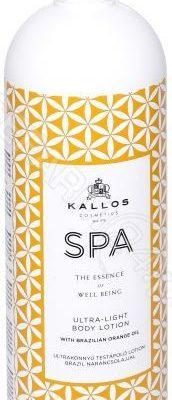 Kallos Cosmetics Cosmetics SPA Ultra-Light mleczko do ciała 1000 ml dla kobiet