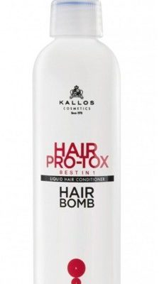 Kallos KJMN Pro-Tox Hair Bomb Best in 1 - Balsam do włosów w płynie 200ml