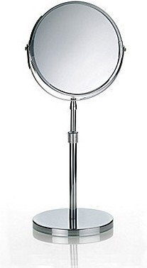 Kela Silvana lustro stojące śr. 17 cm powiększające x 1, x 5 chrom 20846