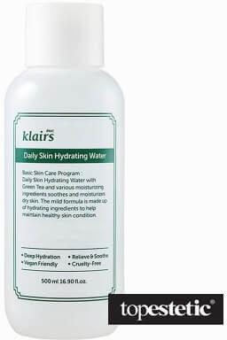Klairs Klairs Daily Skin Hydrating Water Nawadniający tonik na bazie składników certyfikowanych jako EWG GREEN 500 ml