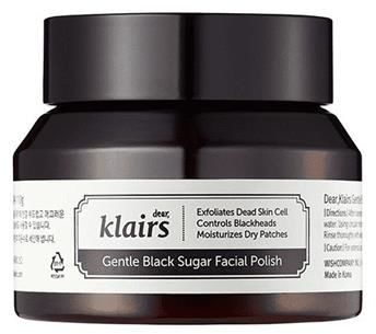 Klairs KLAIRS_Gentle Black Sugar Facial Polish cukrowy peeling do twarzy 110g p-8809572890338