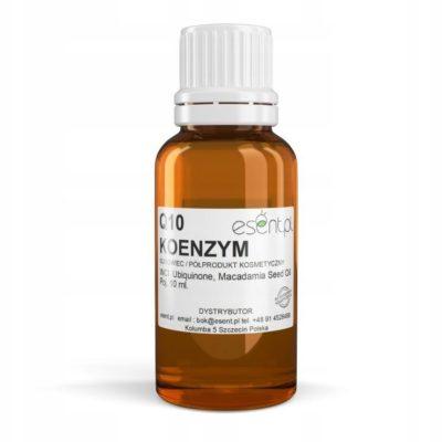 Koenzym Q10 (Ubiquinone) w oleju Makadamia 10ml