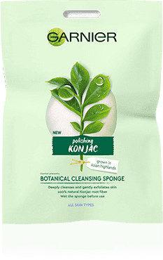 Konjac Garnier Garnier Bio Botanical Cleansing Sponge oczyszczająca gąbka do twarzy 1 szt
