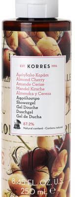 Korres Żel pod prysznic o zapachu słodkich migdałów i świeżych wiśni 250 ml