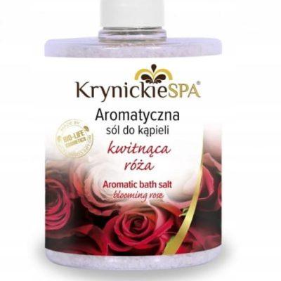 KrynickieSPA Sól do kąpieli o zapachu Róży 600g