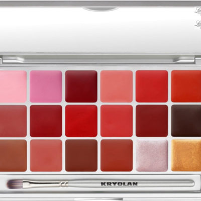 KRYOLAN LIP ROUGE - SET 18 COLORS - Paleta 18 pomadek do ust - ART. 1218 - LRP 2 KRYPU12