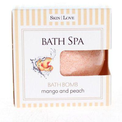 Kula musująca do kąpieli mango i brzoskwinia