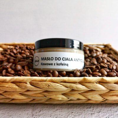 LA-LE LA-LE Masło antycellulitowe Kawowe z kofeiną 100 ml 20931