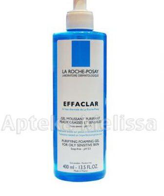 La Roche-Posay Effaclar Oczyszczający żel do skóry tłustej i wrażliwej 200 ml