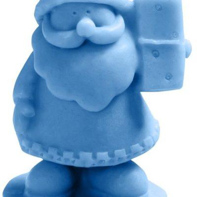LaQ LaQ, Happy Soaps, naturalne mydło glicerynowe Mały Św. Mikołaj, 30 g