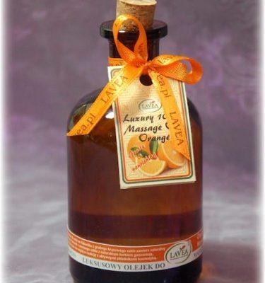 Lavea Olejek do masażu POMARAŃCZA - flakon 125ml Lavea_Olejek-masaz-Pomarancza-125