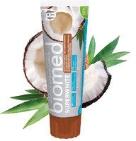 Lbiotica BIOMED Superwhite 100 g - wybielająca pasta do zębów wzmocnienia i remineralizuje szkliwo 3011
