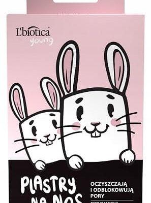 L'biotica plastry oczyszczające na nos KRÓLIK (3szt) CF59-95527_20200225143547