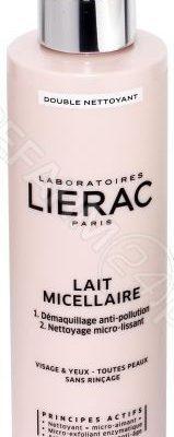 Lierac Double Nettoyant mleczko micelarne do demakijażu 200 ml