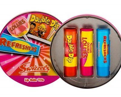 Lip Balm Swizzels Swizzels Trio zestaw 4 g dla dzieci