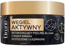 Lirene Lirene peeling do ciała detoksykujący Węgiel Aktywny i Olej Babassu 200g PEE LIR-013