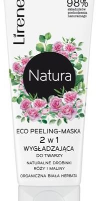Lirene LIRENE_Natura Eco Peeling-maska 2w1 wygładzająca do twarzy Biała Herbata 75ml p-5900717751019