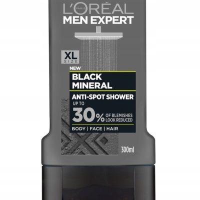 Loreal Men Expert Black Mineral AntiSpot żel 300ml