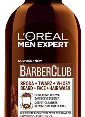 L'Oreal Paris L'Oreal Paris Men Expert Barber Club 3in1 oczyszczający żel do mycia brody twarzy i włosów 200ml