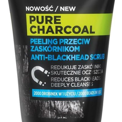L'Oreal Paris L'Oreal Paris Men Expert Pure Charcoal peeling do twarzy przeciw zaskórnikom 100ml