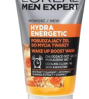 Loreal Paris Paris Men Expert Hydra Energetic energetyzujący żel do mycia twarzy 100ml