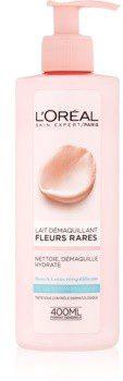 Loreal Paris Paris Precious Flowers mleczko oczyszczające do cery normalnej i mieszanej 400 ml