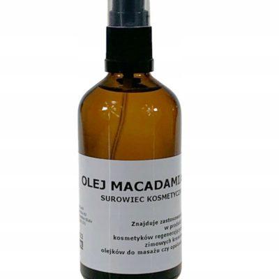 Macadamia Olej Naturalny Jakość Kosmetyczna 100 ML