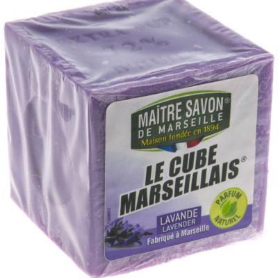 Maitre Savon De Marseille Mydło marsylskie lawenda 300 g - Maître Savon
