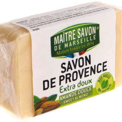 Maitre Savon De Marseille Mydło marsylskie migdałowe 100 g - Maître Savon