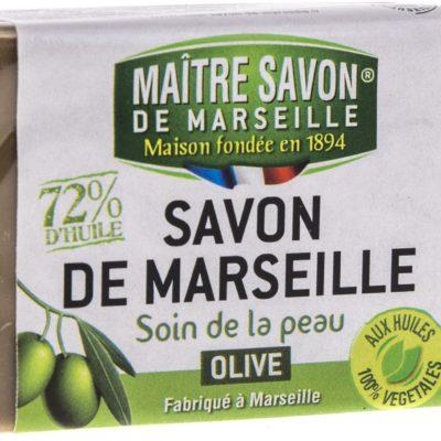 Maitre Savon De Marseille Mydło marsylskie oliwkowe 100 g - Maître Savon