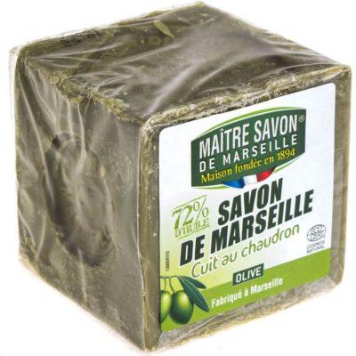 Maitre Savon De Marseille Mydło marsylskie oliwkowe 300 g - Maître Savon 1306MIV4