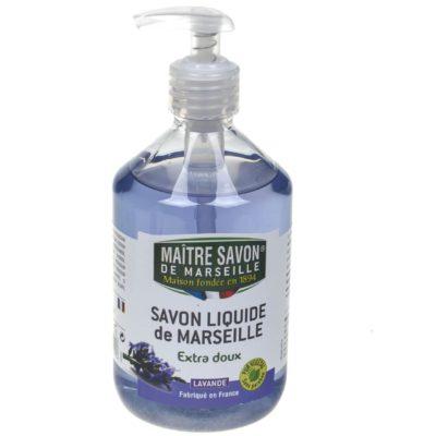 Maitre Savon De Marseille Mydło marsylskie w płynie lawendowe 500 ml - Maître Savon