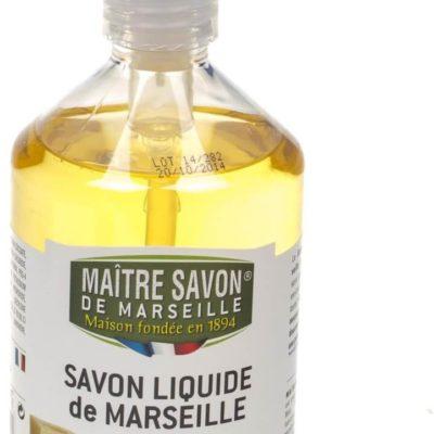 Maitre Savon De Marseille Mydło marsylskie w płynie naturalne 500 ml - Maître Savon