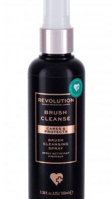 Makeup Revolution London London Brushes Anti-Bacterial Brush Cleansing Spray pędzel do makijażu 100 ml