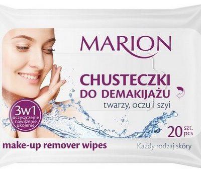 Marion Chusteczki do demakijażu 3w1 20szt Każdy rodaj skóry